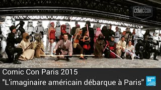 """Comic Con Paris : """"On veut voir plus grand pour la 2e édition en 2016"""""""