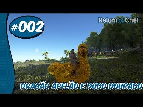 ARK Survival Evolved Mods #2 Dragão Apelão E Dodo Dourado