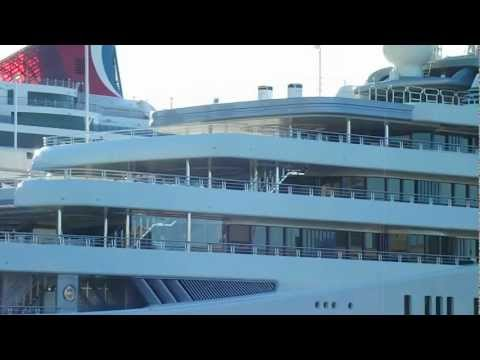 Roman Abramovich Mega Yacht Eclipse in New York