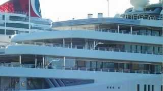 Roman Abramovich Mega Yacht Eclipse in New York
