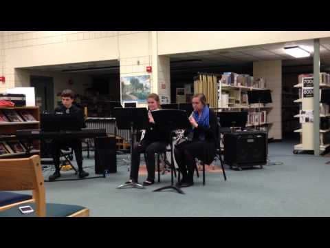Keene High School Jazz Trio (oboe and piano)