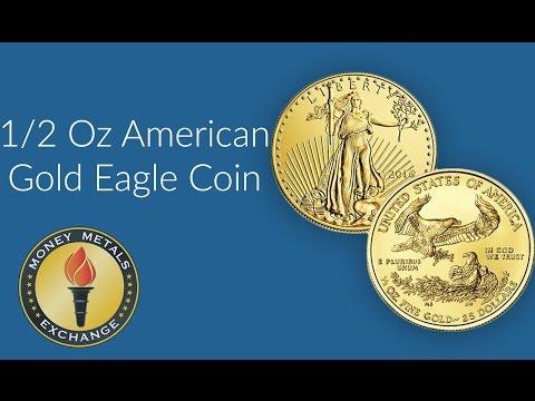 1/2 Oz Gold Eagle Coin | U.S. Mint | Money Metals Exchange