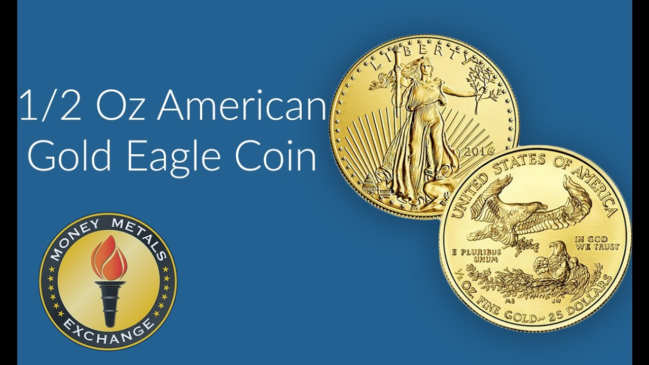 1/2 Oz Gold Eagle Coin | U S  Mint | Money Metals Exchange