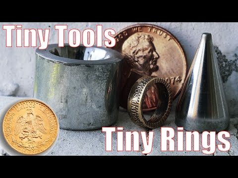 Making Mini Tools to Make a Tiny Gold Coin Ring