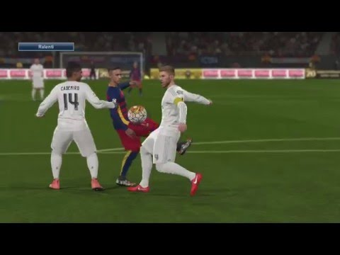 FC Barcelone - Real Madrid [PES 2016] - Liga BBVA 2015-2016 (31ème Journée) - CPU Vs. CPU - 동영상