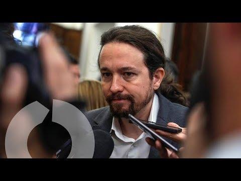 """Pablo Iglesias: """"Si Rajoy declara el artículo 155 será un error histórico"""""""