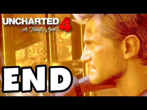 Uncharted 4: A Thief's End - Gameplay Walkthrough Part 22 - ENDING and Epilogue! (PS4)