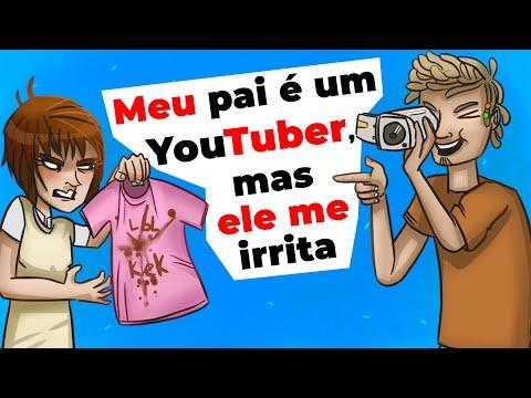 Meu Pai é Um YouTuber, Mas Ele Me Irrita | História Animada