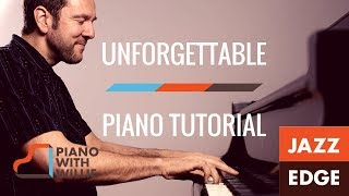 Learn to Play Piano at Home: Unforgettable - Part 1 - The Arrangement - The Intro