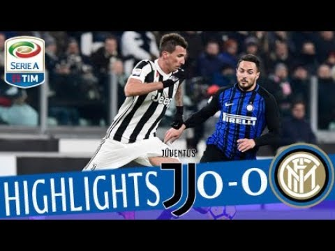 Juventus - Inter 0-0 - Highlights - Giornata 16 - Serie A TIM 2017/18 thumbnail