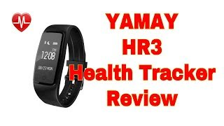 Baixar Yamay HR3 Activity Tracker Full Review (inc. Phone app)