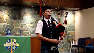 Great Highland Bagpipe Medley at St. John