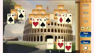 How to play ancient rome solitaire game | Free PC & Mobile Online Games | GameJP.net