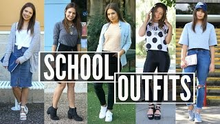 Back to School Outfits | OOTW 2015