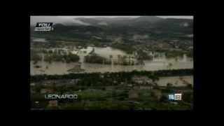 20121114 RAI3 In Italia la cattiva gestione del territorio causa delle future alluvioni Leonardo
