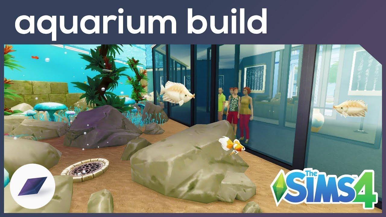 Sims 4 Aquarium Bauen