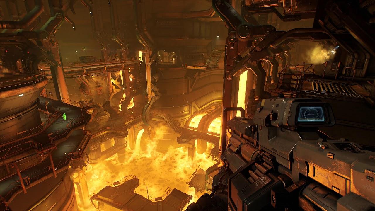 Doom Foundry Animated Wallpaper 1440p 5 Min