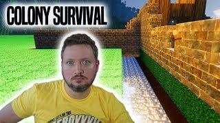 VOLDGRAV MED VAND, GULD OG SHOP! - Colony Survival Dansk Ep 4