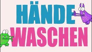 Dingsbums & die Flitzpiepen - Händewaschen 🤲 (Offizielles Musikvideo) #WirBleibenZuhause