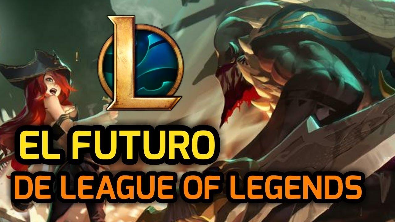 EL FUTURO DE LEAGUE OF LEGENDS. LOL sigue vivo? Ha perdido jugadores? El problema con League 2018