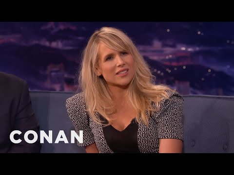 Lucy Punch On How She Named Her Baby Boy   CONAN on TBS