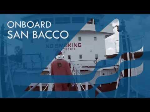 "Onboard Bitumen Tanker ""San Bacco"""