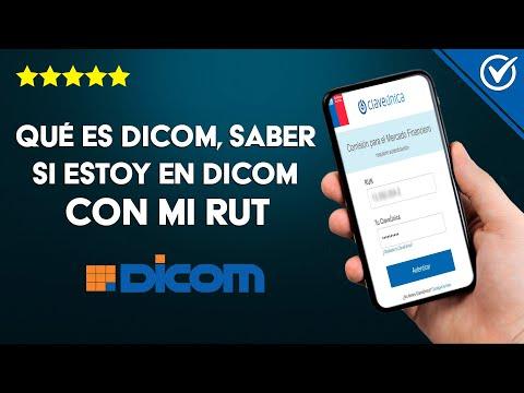 Qué es Dicom y Cómo Puedo Saber si Estoy en Dicom con mi Rut por Internet Gratis