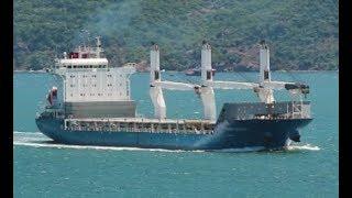 General Cargo Ship Thorco Basilisk Goes to sea