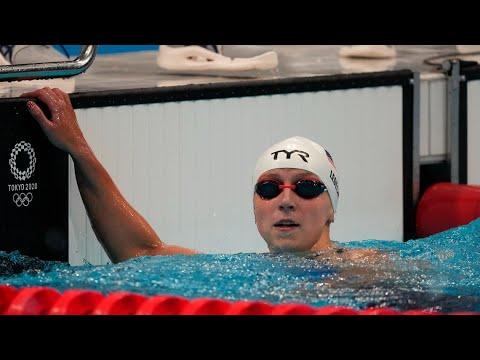 Katie Ledecky is top qualifier in 400-meter freestyle