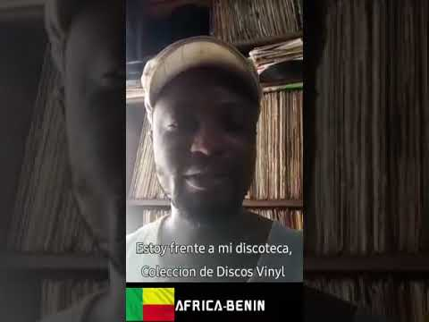 Tchayé Okoudjou [Benin] record collector & reseller of Classic African records