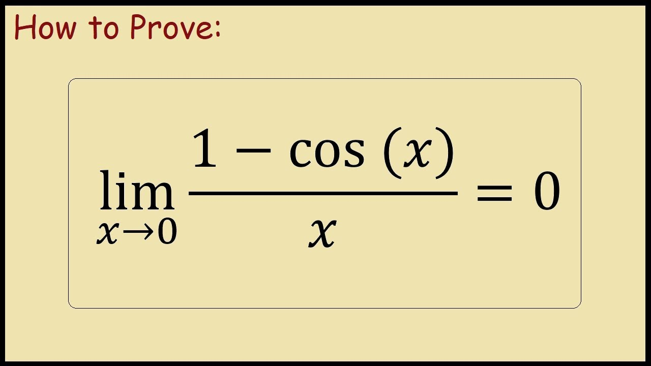 $lim_xto 0(sqrt(1-cosx))/x$ - Matematicamente