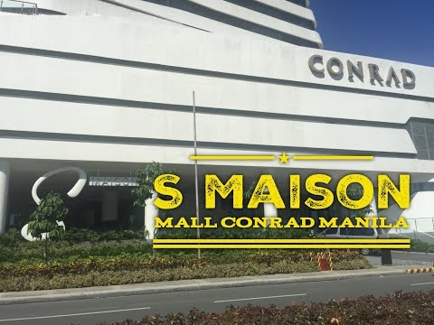 S Maison Mall Now Open Conrad Manila Hotel SM Mall of Asia Complex by HourPhilippines.com