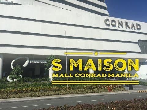 S Maison Mall Now Open Conrad Manila Hotel SM Mall of Asia Complex by HourPhilippines.com