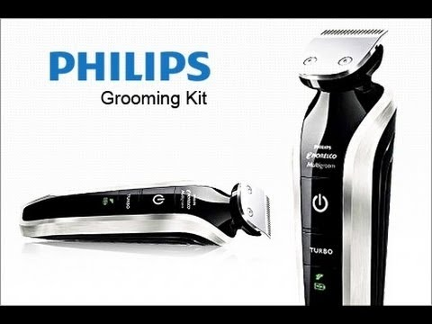 philips grooming kit qg 3383 16 multigroom pro 7 in 1 trimmer unboxing youtube. Black Bedroom Furniture Sets. Home Design Ideas