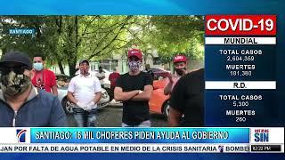 Choferes de Santiago piden ayuda al gobierno