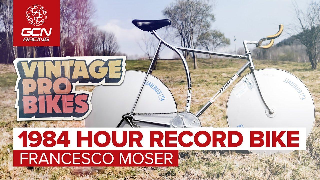 Francesco Moser's 1984 Hour Record Bike | GCN Racing Retro Pro Bikes