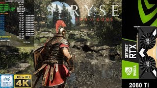 Ryse Son Of Rome High Settings 4K | RTX 2080 Ti | i7 8700K 5.3GHz
