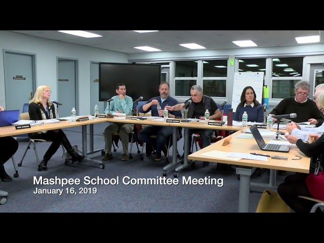 School Cmt Meeting 01 16 19