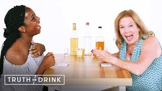 Me and My Mother-In-Law Play Truth or Drink | Truth or Drink | Cut