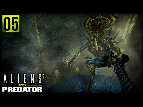 Aliens VS Predator 2   SAVE THE EMPRESS ALIEN (Alien Campaign Ending)