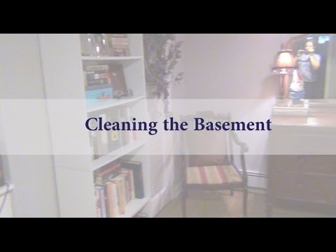 cleaning the basement youtube