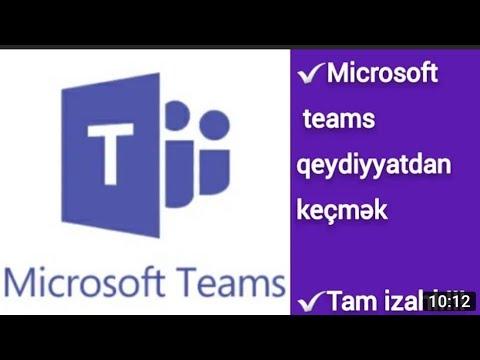 Microsoft Teams - Microsoft Forms Test hazırlamaq və göndərmək