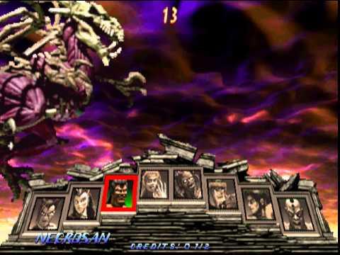 Primal Rage 2 Necrosan Character Select Animation and ...