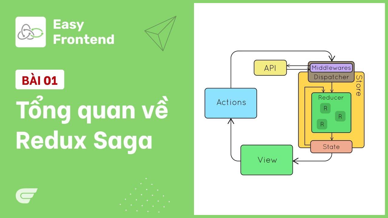 Redux Saga: 01 - Giới thiệu tổng quan về saga 🎉