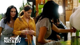 Olivia Pierson's Goat Milking Experience Goes Sour! | Relatively Nat & Liv | E!