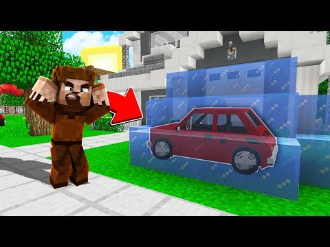 FAKİR'İN ARABASINI DONDURDUM! 😱 - Minecraft