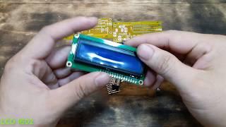 AV Meter With ATmega 8 0V - 30V & 0A - 10A | LCSC Electronics | Easy EDA Parts Store