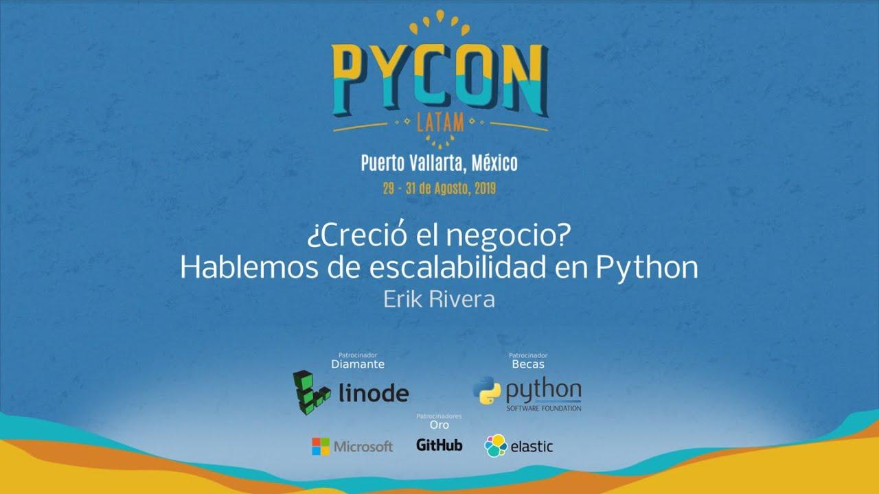 Image from ¿Creció el negocio? Hablemos de escalabilidad en Python