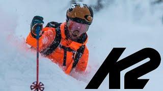 K2 Skis: Eh Frame - Powder Skiing in British Columbia