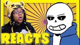 Megalomaniac Undertale Animation Glitchtale #1 Reaction